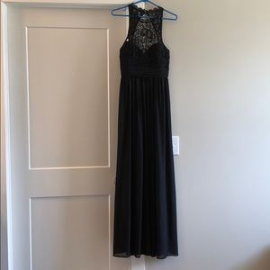 Boutique brand black dress
